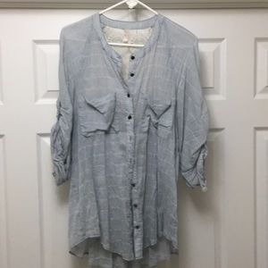 Free People shirt with gorgeous back detail